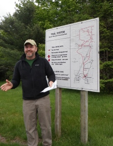New Hike NS President Garnet McLaughlin