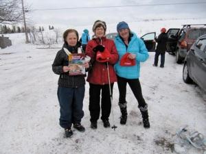 Quarry Brook trail prize winners